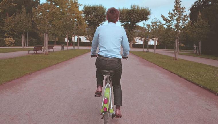Clip vidéo Biking Strasbourg