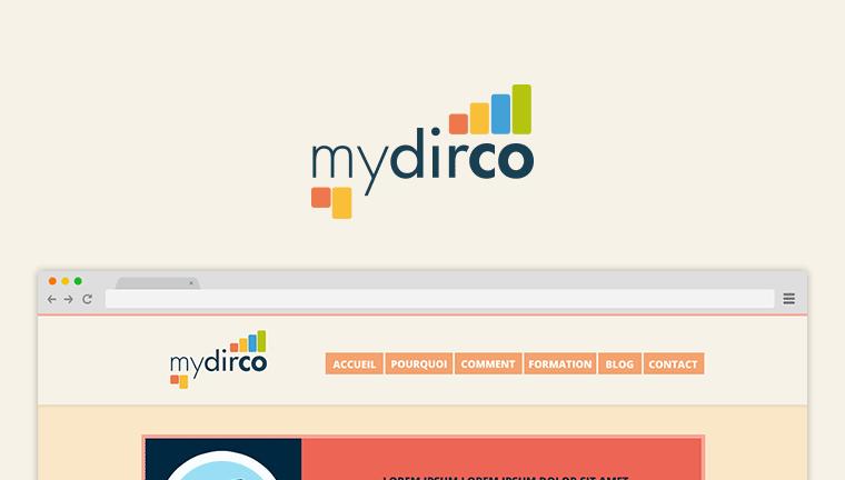 Refonte d'un site web : Mydirco.fr
