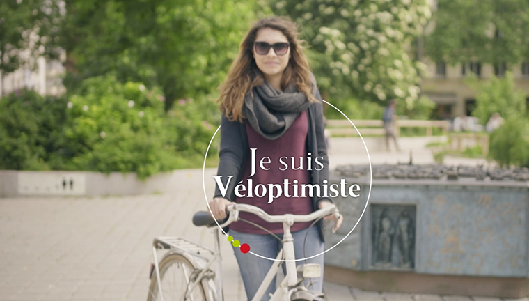 Strasbourg est Véloptimiste