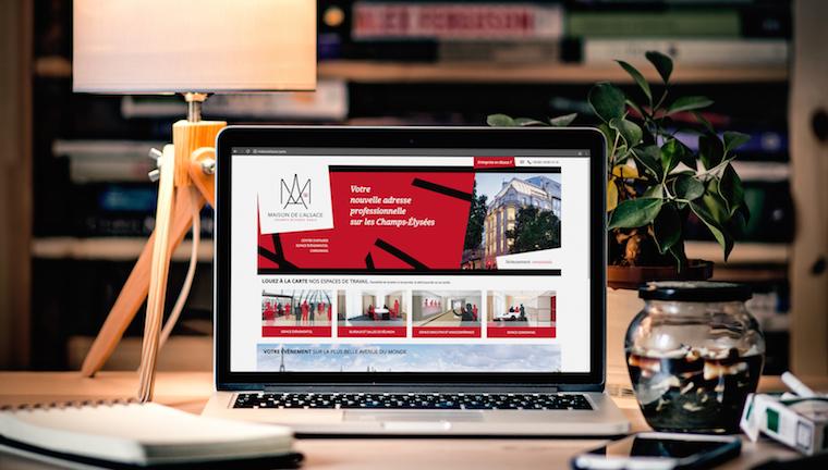 Un nouveau site web, pour la nouvelle Maison de l'Alsace à Paris